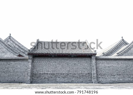 town religious temple in china Stock photo © yurkina