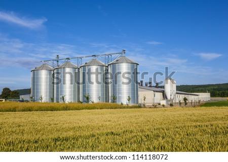 velho · Iowa · campo · similar · fazenda · central - foto stock © meinzahn