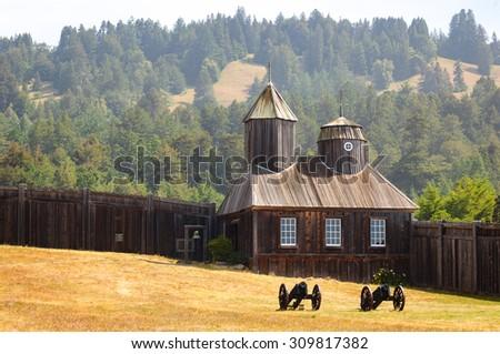 kale · park · çapraz · bağbozumu · kültür - stok fotoğraf © meinzahn