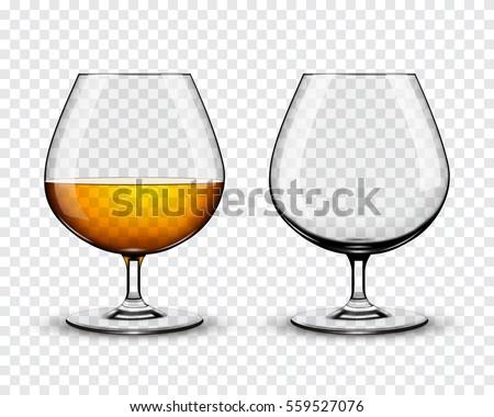 Glasses of cognac Stock photo © goir
