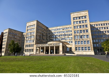 famous IG farben house, former used as headquarter of the US Arm Stock photo © meinzahn