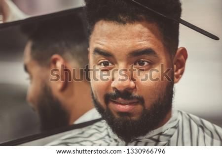 Bella capelli stilista uomo nuovo Foto d'archivio © wavebreak_media