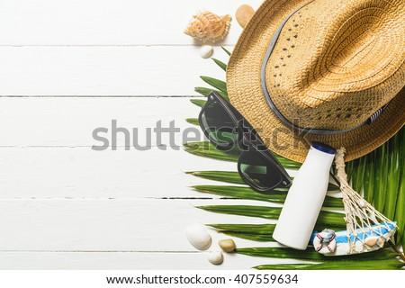Urlaub Zubehör Tabelle Lächeln Holz Stock foto © wavebreak_media