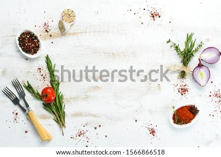 健康 料理 春 背景 夏 緑 ストックフォト © YuliyaGontar
