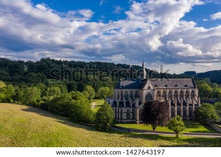 bazilika · Németország · kilátás · gótikus · templom · utazás - stock fotó © borisb17