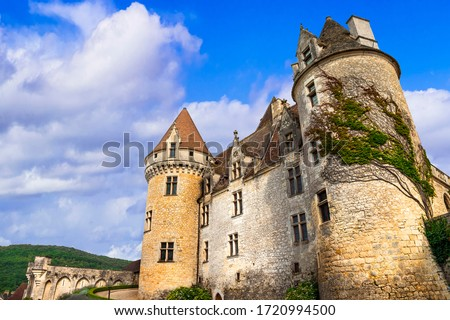 Chateau des Milandes, France Stock photo © borisb17