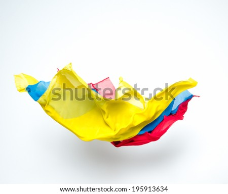 Flying piece of cloth Stock photo © montego