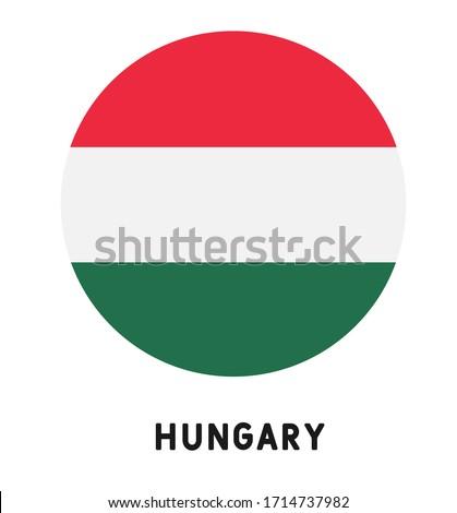 Hongarije vlag witte business teken wind Stockfoto © butenkow