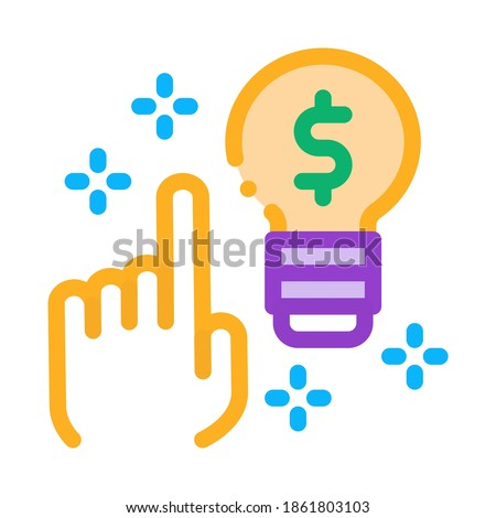 quick wit decision icon vector outline illustration Stock photo © pikepicture