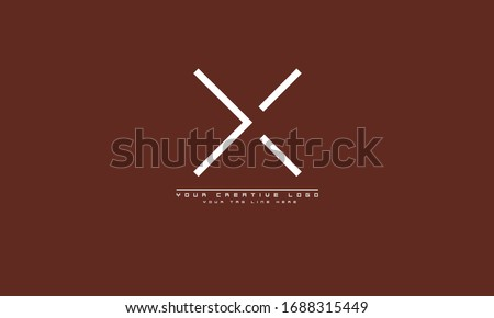 X Letter Logo Template vector Stock photo © Ggs
