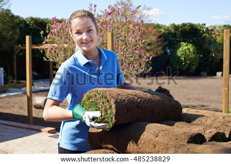 Female landscape gardener Stock photo © photography33