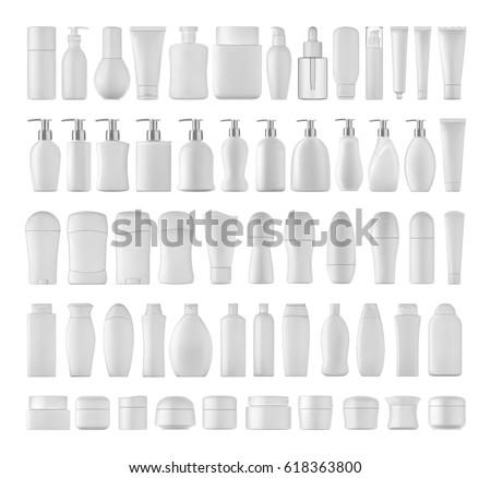 Xampu garrafa isolado corpo projeto beleza Foto stock © ozaiachin