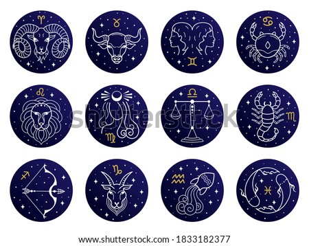 Aquarius Zodiac Star Sign Stock photo © cidepix
