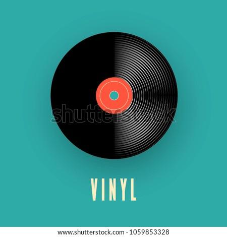 dancing on vinyl stock photo © fisher