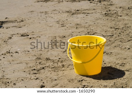 toy pails left on florida beach stock photo © pictureguy