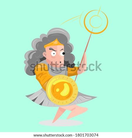 漫画 笑みを浮かべて 女性 女性の笑顔 幸せ 人 ストックフォト © cthoman
