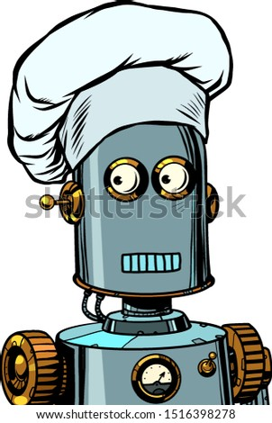 Robot cook food, takes orders at the restaurant Stock photo © studiostoks