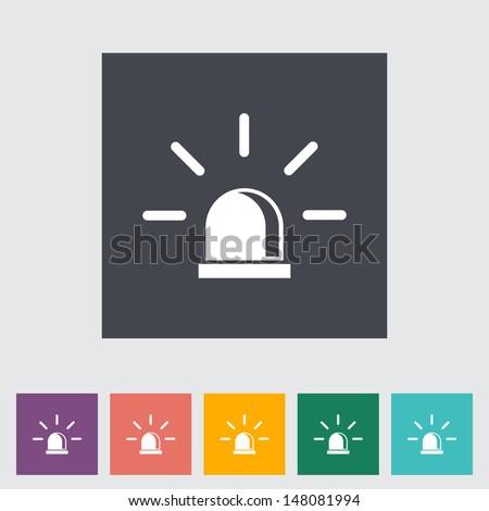 Polizei Symbol weiß Zeichen Recht Retro Stock foto © smoki