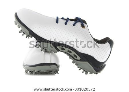 Kadınlar ayakkabı golf çift spor top Stok fotoğraf © rcarner