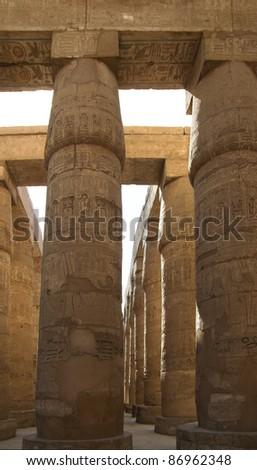 Egypte · tempel · vallei · luxor · teken · schrijven - stockfoto © prill