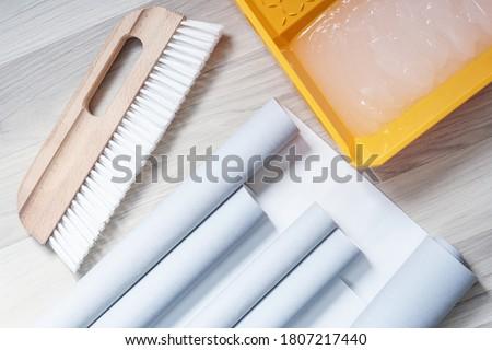 Escove papel textura espaço Foto stock © dariazu