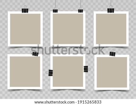 Bağbozumu kâğıt levha vektör boş arka plan Stok fotoğraf © sanjanovakovic