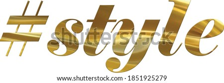 like us golden vector icon design stock photo © rizwanali3d