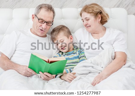 Senior woman with baby grandson Stock photo © IS2