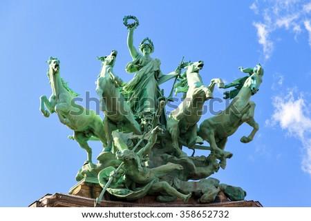 grand palais in paris stock photo © boggy