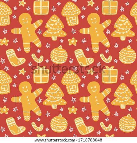 自家製 クリスマス クッキー ヴィンテージ スタイル 時間 ストックフォト © Peteer