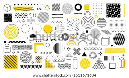 vector set of graphic elements for design stock photo © brahmapootra