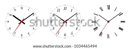Analog clock Stock photo © szefei