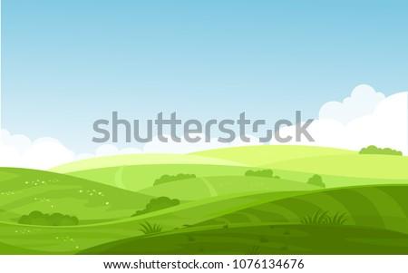 Błękitne · niebo · biały · chmury · cartoon · stylu · projektu - zdjęcia stock © cosveta