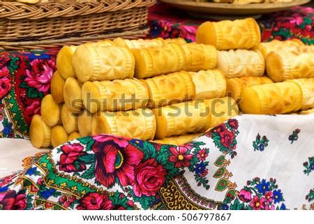 Finom füstölt sajt hegy hagyományos régió Stock fotó © marekusz