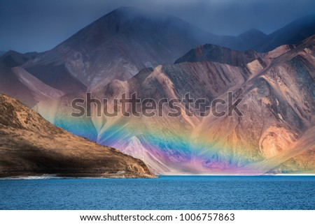 Festői hegy tájkép India természet sivatag Stock fotó © haraldmuc
