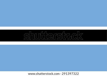 Flag of Botswana Stock photo © creisinger