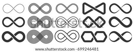 無限大記号 デザイン 実例 孤立した 白 レトロな ストックフォト © cidepix