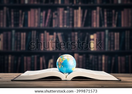 globe on book Stock photo © get4net