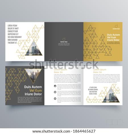 modern vector abstract brochure template stock photo © orson