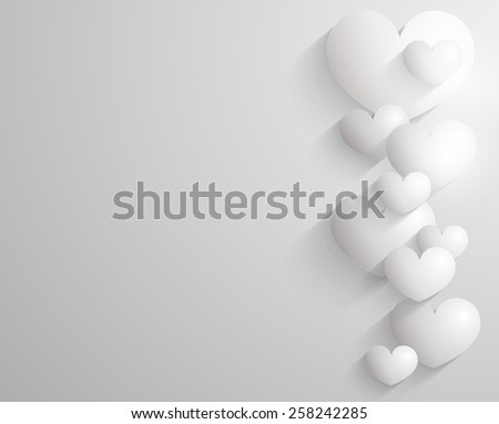 Embossed heart background  Stock photo © kjpargeter