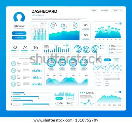 infografía · ilustración · infografía · opciones · presentación · promoción - foto stock © robuart