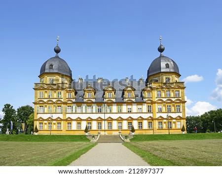 Германия дворец замок архитектура парка Европа Сток-фото © borisb17