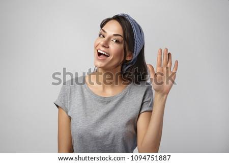 Model golf mooie brunette jurk meisje Stockfoto © zastavkin