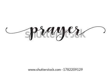 Saying a Prayer Stock photo © lisafx
