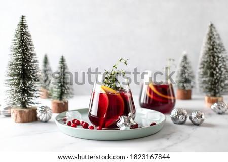 Christmas drink Stock photo © MKucova