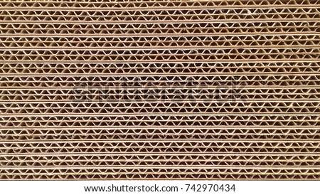 Corrugated cardboard Stock photo © ShawnHempel