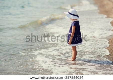 Piękna dziewczyna plaży kobieta Zdjęcia stock © Paha_L