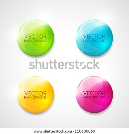 Toplama parlak düğmeler farklı renkler cam Stok fotoğraf © milsiart