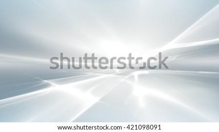 Witte futuristische abstract fractal horizon business Stockfoto © zven0