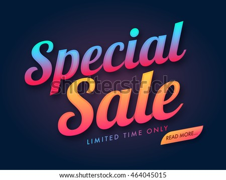 Mega Sale Limited Time Only Vector Illustration Stock photo © robuart